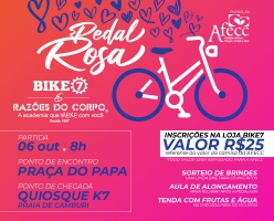 Pedal Rosa - Razões do Corpo & Bike7